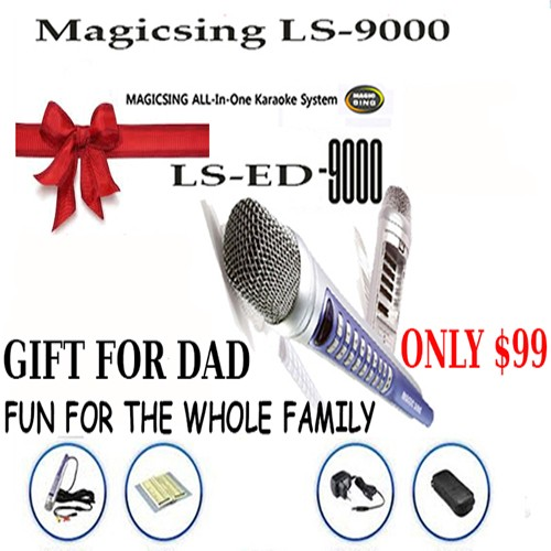 Magicsing LS-9000 793 All Time Favorite Karaoke Songs
