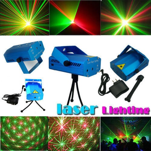 DJ Disco LED Light Stage Party Laser Lighting