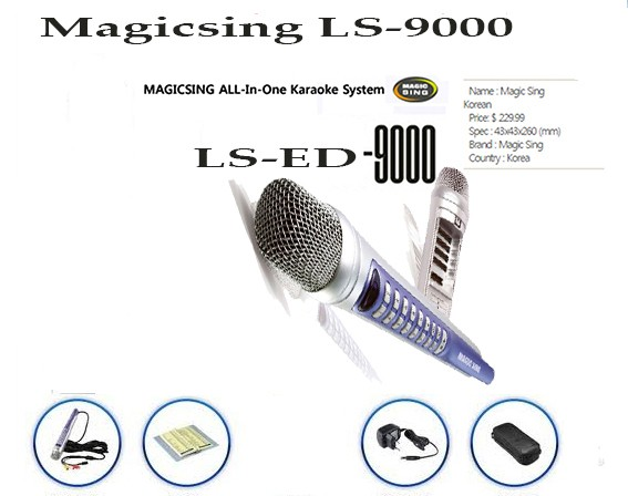 LS9000 PINOY 1,751 MIX TAGALOG ENGLISH SONGS