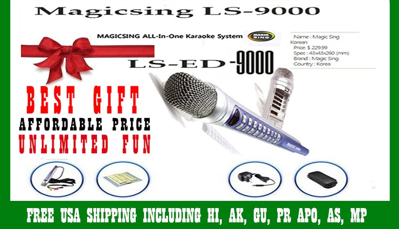 MagicSing LS-9000 Videoke 1,751 Mix Tagalog English Songs