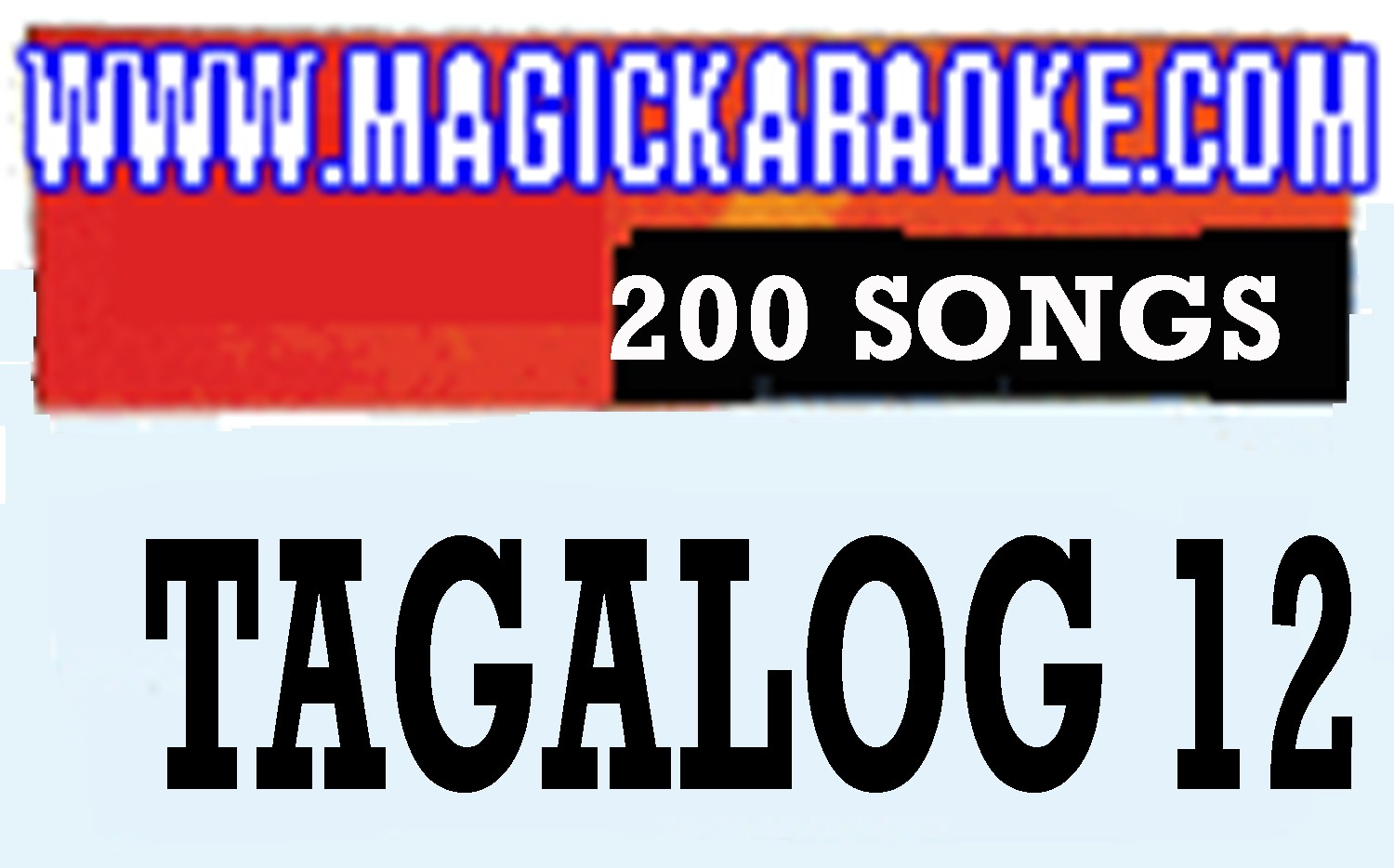 Magic Sing Tagalog 12 20 PINS SALE