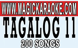 MAGIC SING TAGALOG 11 20 PINS SALE