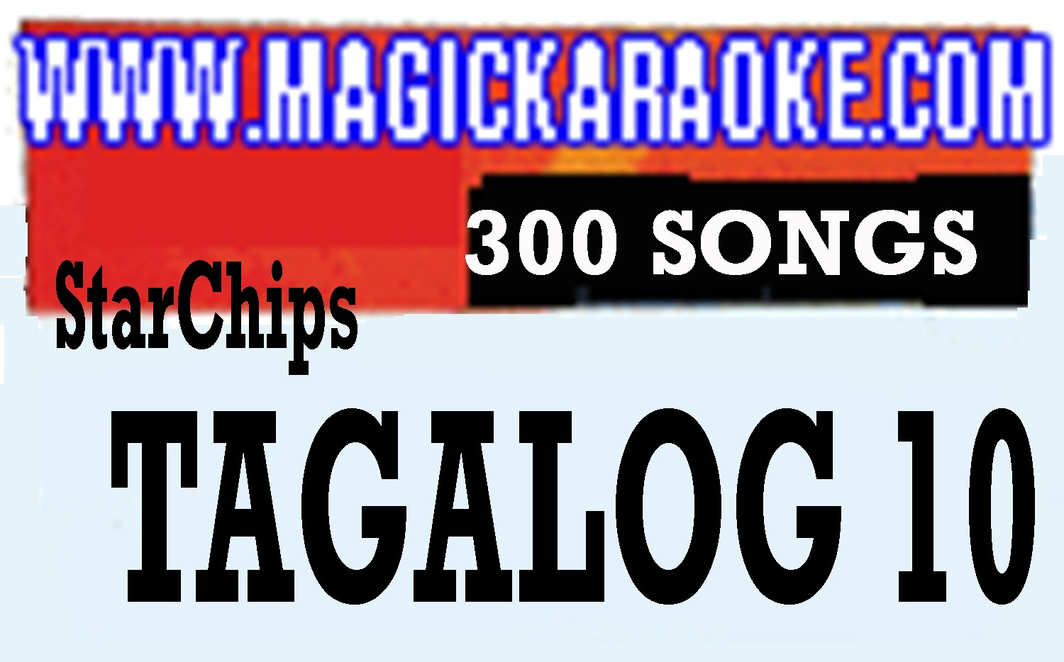 Magic Sing Tagalog 10 20 PINS SALE