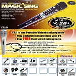 Magic Sing Karaoke ET25K SPANISH Version - FREE DUET MIC