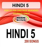 Magic Sing 20 Pin Hindi5 Song Chip