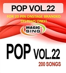 Magic Sing 20 Pin POP22 Song Chip for Onstage