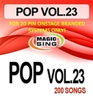 Magic Sing 20 Pin POP23 Song Chip for Onstage