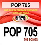 Magic Sing 20 Pin POP705 Song Chip for Onstage