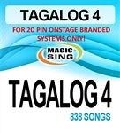 Magic Sing 20 Pin Tagalog4 Song Chip for Onstage