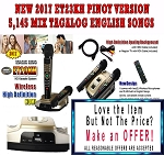 2017 Magic Sing ET-23KH PINOY  5,145 Songs - Make an Offer and $ave More