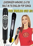 Leadsinger ls3700 magicsing karaoke magic mic 1,751 MIX TAGALOG ENGLISH SONGS + FREE WIRELESS SUBMIC