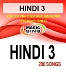 Magic Sing 20 Pin Hindi3 Song Chip for OnStage