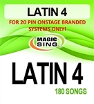 Magic Sing 20 Pin Latin4 Song Chip for Onstage