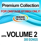 Magic Sing 20 Pin Premium Collection Vol 2 Song Chip for Onstage