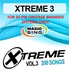 Magic Sing 20 Pin Xtreme Vol 3 Song Chip for Onstage