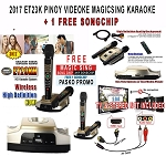 2017 ET23KH PINOY VIDEOKE  5,145  MIX TAGALOG ENGLISH + 1 FREE SONGCHIP