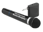 BLACK WIRELESS MIC-SMM