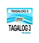 Magic Sing Onstage Karaoke Song Chips 20PINS TAGALOG 3 906 SONGS