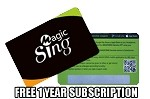 Magic Sing ET23PRO 1 YEAR STREAMING SUBSCRIPTION