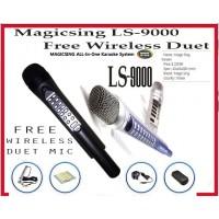 MagicSing LS-9000 793 POP ENGLISH BUILT-IN FREE WIRELESS DUET MIC