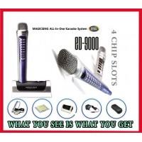 Magic sing karaoke magicmic ED-9000 OVER 2000 BUILT-IN ALL TIME FAVORITE POP ENGLISH SONGS