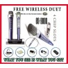 Magicsing SPANISH EDITION ED-9000 + Wireless Duet Mic 2064 MIX SPANISH | ENGLISH Songs Built-in