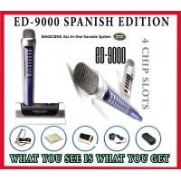 Magicsing SPANISH EDITION ED-9000 2064 MIX SPANISH | ENGLISH Songs Built-in