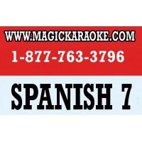 SPANISH 7 SONG CHIP FOR MAGIC SING KARAOKE MIC