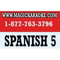 MAGIC KARAOKE SPANISH 5 SONG CHIP