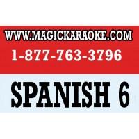 SPANISH 6 EnterTech Magic Sing  Karaoke mic song chip