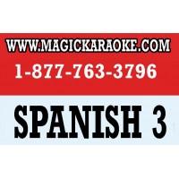 MAGICSING KARAOKE MIC SPANISH 3 SONG CHIP