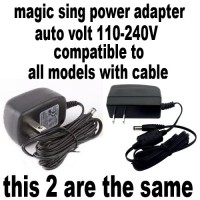 Magic Sing with Cable Models Power Adapter