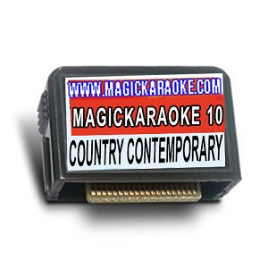 Magic Sing Song Chips - MagicKaraoke 10 COUNTRY