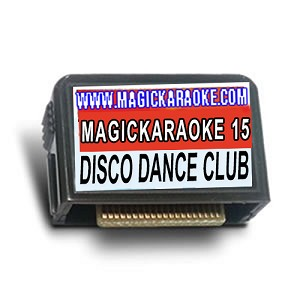 Magic Sing Song Chips - MagicKaraoke 15 DANCE-DISCO