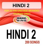Magic Sing 20 Pin Hindi2 Song Chip for OnStage