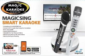 Magic Sing E2 WiFi Karaoke Mic 12K ENG + 12MONS 220K Tagalog &  International songs - 2 WIRELESS MIC