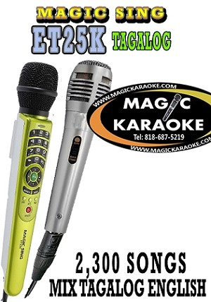 Magic Sing TAGALOG ET25K Videoke Make an Offer and $ave More