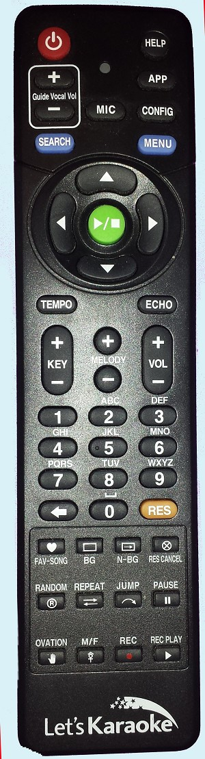 Magic Sing Onstage ET28KH REMOTE CONTROL