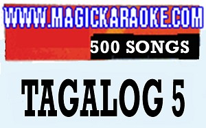 Magic Sing Tagalog 5 20 PINS SALE