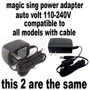 Magic Sing and LEADSINGER  Power Adapter