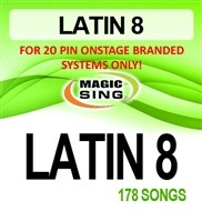 Magic Sing 20 Pin Latin8 Song Chip for Onstage