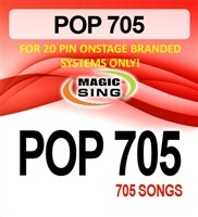 Magic Sing 20 Pin POP 705 Songs Chip for Onstage
