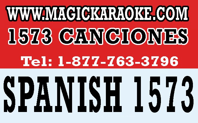 Magic Sing SPANISH 01 SONG CHIP 1573 CANCION