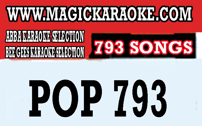 POP793 - Compatible to All Magic Sing Model Old Black, Silver, Gold, Magicsing II, Leadsinger  and all ET Series Model including the ET23KPRO and ED Series Models ED-6000 to ED11000