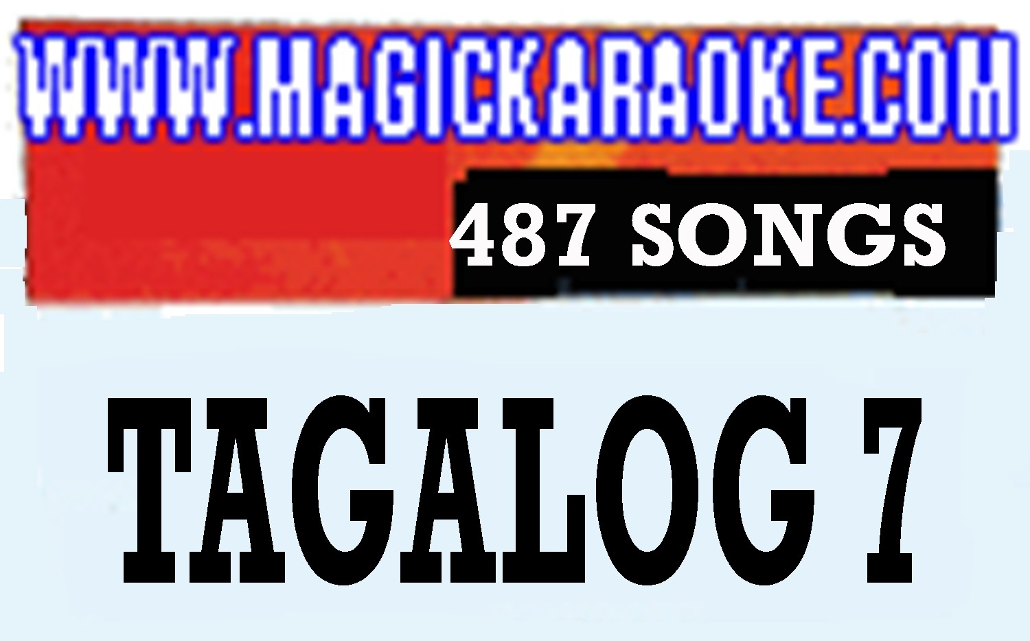 Magic Sing Tagalog 7 20 PINS SALE