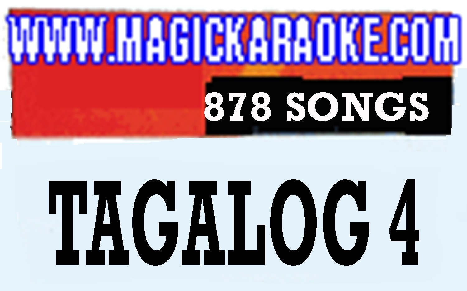 Magic Sing Tagalog 4 20 PINS SALE