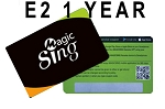Magic Sing 1YEAR STREAMING SUBSCRIPTION FOR E2