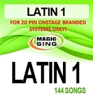 Magic Sing 20 Pin Latin1 Song Chip for Onstage