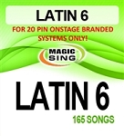 Magic Sing 20 Pin Latin6 Song Chip for Onstage