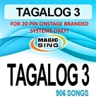 Magic Sing 20 Pin Tagalog3 Song Chip for Onstage